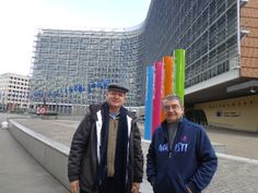 Visit of Brothers Ernesto Sánchez and Antonio Ramalho to Belgium (16-23 March) - Belgium