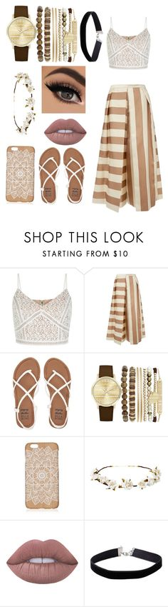 """""""Summer Vibes"""" by blue-eyes-and-combat-boots ❤ liked on Polyvore featuring New Look, TIBI, Billabong, Jessica Carlyle, Cult Gaia, Lime Crime and Miss Selfridge"""