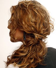 Formal Hairstyles Wavy Half Up | Formal Half Up Long Curly Hairstyle - - 7311 | TheHairStyler.com