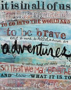 """""""To Be Brave"""" makes the most perfect & inspiring graduation gift"""