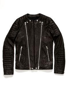 Balmain Leather Biker