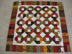 Roundabout--Miss Rosie pattern.  Fabric--Salt Box Harvest.