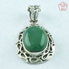 92.5 SOLID STERLING SILVER TURQUOISE STONE RAVISHING PENDANT JEWELRY #SilvexImagesIndiaPvtLtd #Pendant