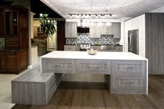Victoria Kitchen Cabinets in-Stock  in Showroom