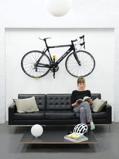 With Cycloc you store your bike with style! Choose Solo, Endo or Hero in 7 different colours for award-winning bike storage that suits you, your bike and your lifestyle. Bike Storage Uk, Cycle Storage, Architecture Board, Storage Solutions, Home Office, Cycling, Sweet Home, Bicycle, Colours