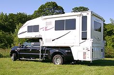 Unbelievable truck camper . . . seriously considering this as our dream vehicle
