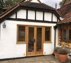 Timber Windows, Casement Windows, French Doors With Sidelights, Joinery, Garage Doors, Outdoor Decor, Home Decor, Carving, Woodworking