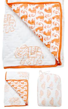 rikshaw design - taj blanket