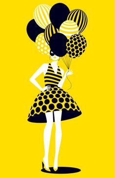 'Balloons' - Malika Favre