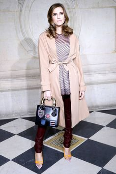 All of the best-dressed attendees spotted front row at Paris Couture Week. Allison Williams at Christian Dior.