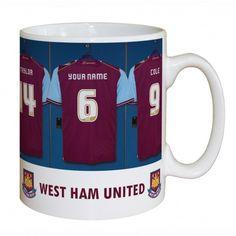 West Ham United Dressing Room Mug | Mugs | Exclusively Personal