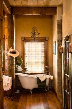 36 Best Western Interior Design Style images | Log homes ...
