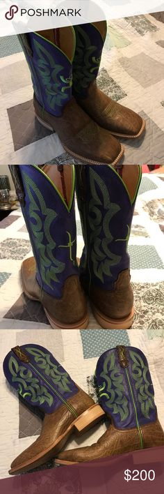 Twisted X Cowboy Boots Perfect condition. Only worn once! Twisted X Shoes Ankle Boots & Booties