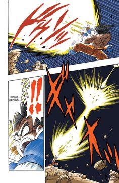 Read Dragon Ball Full Color - Saiyan Arc Chapter 37 Online For Free Dragon Ball Z, Manga Art, Manga Anime, Anime Art, Goku Manga, Character Art, Character Design, Comic Manga, Goku Vs