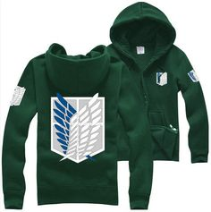 Fashion Attack On Titan Reon Corps Funny Sweatshirt Sweater More Colors S - 2XL on Etsy, $26.99