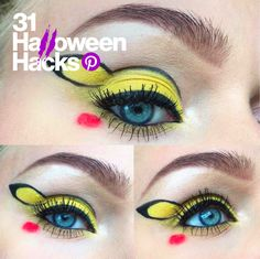 Catch your Pokemon look with Pikachu eyes.