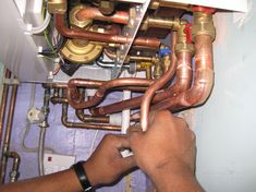 recent project for boiler installation in stockton on tees