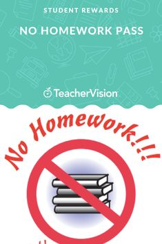 """Reward students for a job well done with a """"get out of homework free"""" card! This pass entitles a student to one homework-free evening. This printable is customizable. Homework Pass, Student Rewards, Award Certificates, Behavior Management, Students, Printables, Teacher, Motivation, Cards"""