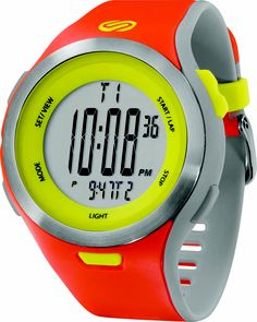 Soleus Running Watch - Ultra Sole - Bright Orange / Sol Yellow