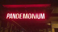 pandemonium sign!! xx