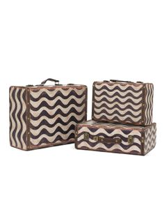 Storage Boxes (Set of 3) by Three Hands at Gilt