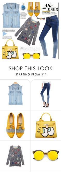 """Banggood #14"" by cherry-bh ❤ liked on Polyvore featuring Chicnova Fashion, Garance Doré, Revo, Michael Kors, vintage and BangGood"