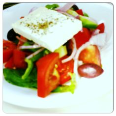 Famous greek salat, Kos island,Greece