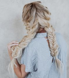 20 Braids for Long Thick Hair // # Pretty Hairstyles, Braided Hairstyles, Hair Heaven, Good Hair Day, Blake Lively, Mi Long, Hair Dos, Hair Trends, Gorgeous Hair