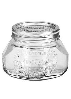 Leifheit Einkochglas  1/2 L  als Alternative zu mason jars