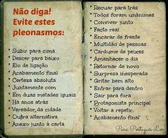(PG) Nosso Português é Nossa Cultura. - Comunidade - Google+