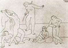 Пабло Пикассо. Купальщицы, 1932 год
