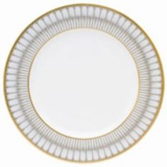 Arcades Grey Gold Salad Plate