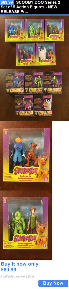 """Details about  /5/"""" Scooby-Doo The ghost Series 2 Figure Hanna-Barbers Scooby Doo Toys Rare Toys"""