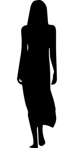 Free Image on Pixabay - Dress, Female, Girl, Human, People Girl Silhouette, Silhouette Vector, Sillouette Painting, Flora Und Fauna, Cat Vector, Art Template, Templates, Female Girl, Free Images