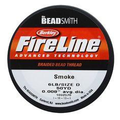 FireLine Microfused Braided Bead Thread .006 Inch Average Diameter Smoke Grey 50 Yard Roll *** FIND OUT @ http://www.laminatepanel.com/store/fireline-microfused-braided-bead-thread-006-inch-average-diameter-smoke-grey-50-yard-roll/?a=5934