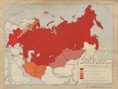 2. USSR Territorial Expansion 1939-1951 by Kuusinen.deviantart.com on @DeviantArt