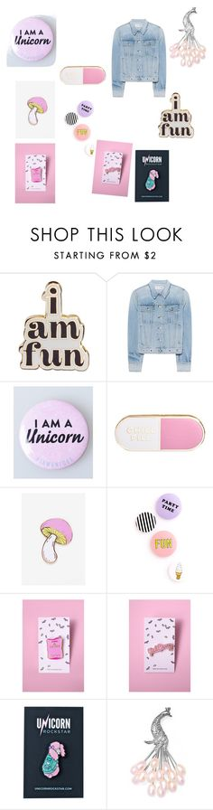 """""""Girly stuff"""" by littlewolf1311 ❤ liked on Polyvore featuring ban.do, rag & bone, Big Bud Press, Yeah Bunny, Unicorn Rockstar and Bling Jewelry"""