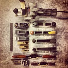 Tools of the trade… (at Mandala Custom Shapes)