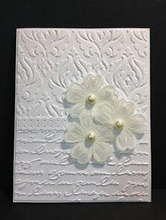 My Creative Corner!: Flower Shop White on White