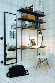 trendy home office design ideas ikea simple Interior Design Examples, Office Interior Design, Office Interiors, Design Ideas, Office Designs, Design Design, Custom Design, Interior Work, Wall Design