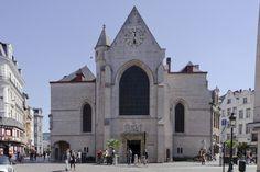 Église Saint-Nicolas, rue au Beurre à Bruxelles / Sint-Niklaaskerk, Boterstraat in Brussel (photo/ foto: A. de Ville de Goyet, GOB)