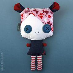 Boneca Lila Pupila. R$48.90