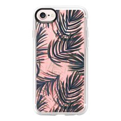 Palms Jungle - iPhone 7 Case And Cover (970 CZK) ❤ liked on Polyvore featuring accessories, tech accessories, phones, iphone case, clear iphone case, apple iphone case, iphone cover case and iphone cases