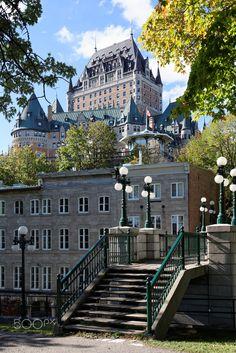Hotel Fairmont Le Chateau Frontenac, Quebec, Canada
