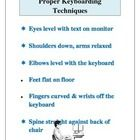 Simple+Keyboarding+Techniques+poster+to+hang+in+the+room+or+pass+out.+Coincides+with+the+Computer+Ergnomic+label+worksheet....