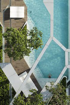 The Pool at Pyne in Bangkok by TROP Studio