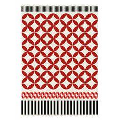 Gandia Blasco Catania Red and White Kilim Rug - 934923 - Catania Red and White Kilim Rug 170 x 240cm Heal's