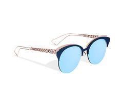 5d6a457cc9e Diorama Club S Matte Blue Pink mauve green lens