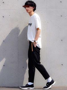 Levi'sロゴではなく、Wranglerを👖 Tシャツ ¥1,800 パンツ¥1,900 小物除