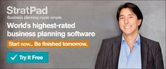 StratPad Worlds highest rated business planning software
